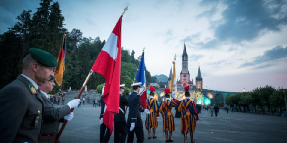 Pèlerinage militaire international de Lourdes